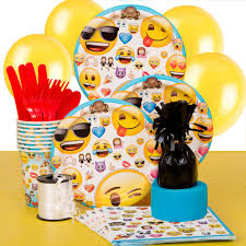 wedding party supplies wedding ideas emoji party supplies kit for walmart city