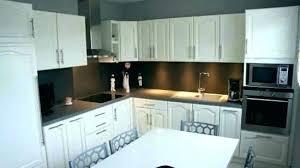 repeindre cuisine relooking cuisine rustique aussi comment moderniser cuisine en