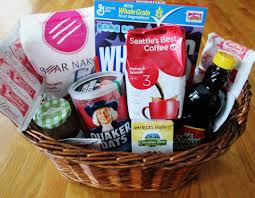 family gift baskets couponing for christmas create themed gift baskets using items