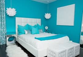 paint color ideas for teenage bedroom comfortable modern blue