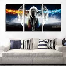 online buy wholesale picture wall art angel wing from china