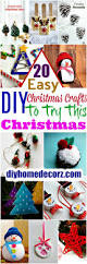 20 easy diy christmas crafts to try this christmas u2022 diy home decor