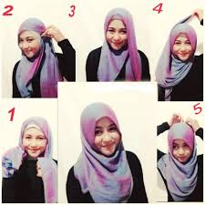 simple hijab styles tutorial segi empat tutorial hijab segi empat modern namun tetap islami tutorial hijab