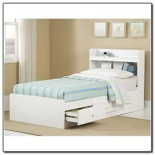 twin storage headboard unique white twin storage bed with bookcase