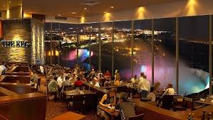 Skylon Tower Revolving Dining Room Niagara Falls Fallsview Restaurants