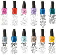 new opi nail polish colors mailevel net