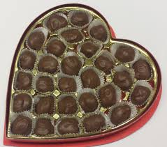 heart box of chocolates turtles heart box factory sweet shoppe
