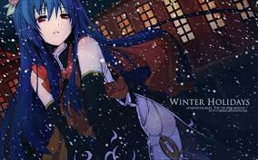 winter anime wallpaper hd hinanawi tenshi tenshi hinanawi touhou hd wallpaper 166551