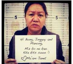 Janet Napoles Memes - napoles mug shot goes viral inquirer technology