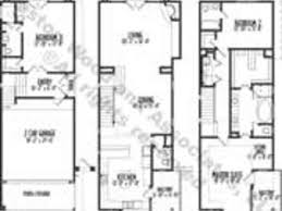 dazzling design inspiration modern house plans narrow lots 4