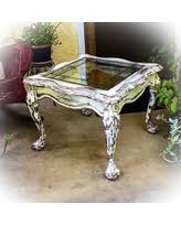 great deals on french country antique end table distressed