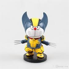 2017 movies cartoon action figures wolverine cosplay a doraemon