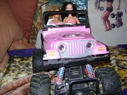 vintage barbie jeep my latest black foot project barbie jeep