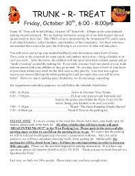 trunk or treat love this idea for a group of neighbors on my