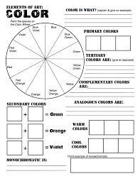 what are neutral colours color theory review sheet made for studio in art revised from