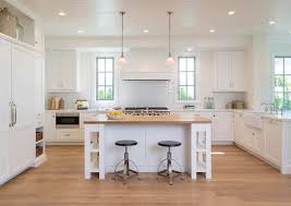 white kitchen cabinets with oak floors home with crisp transitional interiors home bunch interior