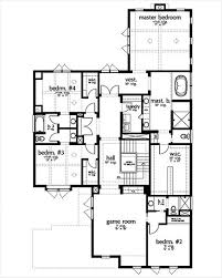 contemporary style house plan 5 beds 4 5 baths 4032 sq ft plan