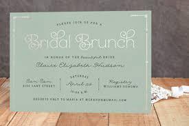 brunch bridal shower invitations blushing brunch foil pressed bridal shower invitations by