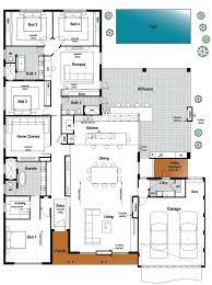 ranch house floor plans open plan floor plans for houses innovative house floor plan ideas best