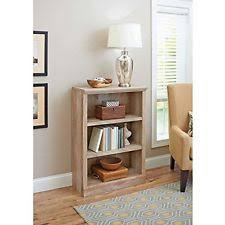 better homes and gardens crossmill collection 3 shelf bookcase