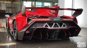 Lamborghini Veneno Engine - super rare 4 5m lamborghini veneno roadster started up and loaded