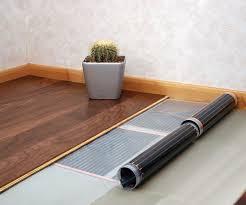 can you put radiant heat under laminate flooring floor heated floors under laminate heated floors under laminate