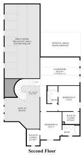 Second Floor Addition Floor Plans Phillips Creek Ranch The Villas At Marshall The Rochester Home