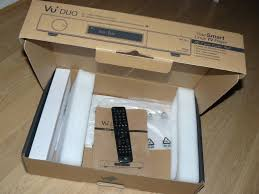 vu duo with 1tb samsung hard drive remote original box