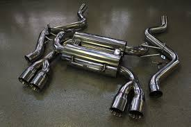 Bmw M3 Back - beluga racing quad 3 u2033 bevel tips axle back exhaust bmw m3 e90 w