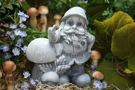 garden gnome giving the finger rude gnomes for sale by