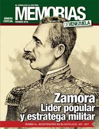 memorias nº 11 zamora lider popular y estratega militar by
