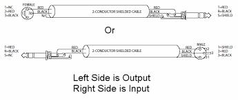 xlr to trs wiring diagram xlr wiring diagrams instruction
