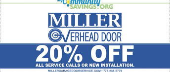 Miller Overhead Door 20 All Service Calls Or New Installation My Community Savings