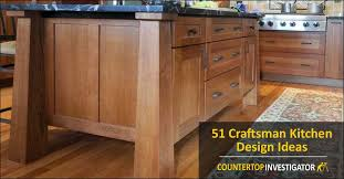 mission style oak kitchen cabinets 51 craftsman kitchen design ideas pictures