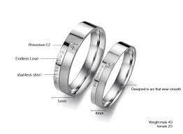titanium wedding rings philippines endless titanium stainless steel mens promise