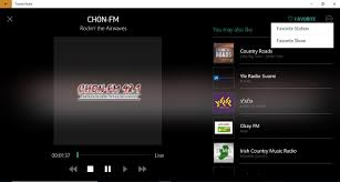 tunein how do i favorite or unfavorite stations
