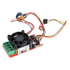 fan motor speed control switch adjustable h bridge dc motor speed pwm controller with plc control