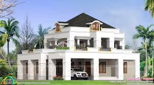 colonial model 4 bedroom house kerala home design and floor plans