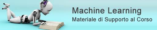 dispense unibo machine learning materiale di supporto al corso