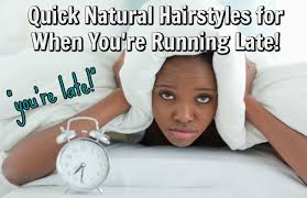 natural styles that you can wear in the winter quick natural hair styles for when you re running late ask me