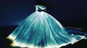 light of life gala claire danes literally glows wearing light up princess dress for met