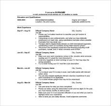 Digital Media Resume Examples by Digital Resume Template U2013 8 Free Word Excel Pdf Format Download