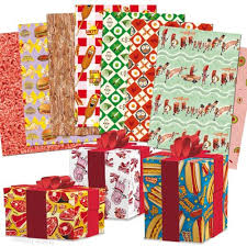 wrapping paper sheets meat parade gift wrapping paper book w 12 tear out sheets of