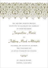 wedding invitation sles wording on wedding invitations theruntime