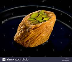 arab sweet cake sweet pastries nuts honey pistachios from dubai