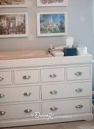 Nursery Changing Table Dresser Changing Table Organizer Ideas 24