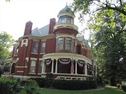 harris house historic queen anne style house in sedalia missouri