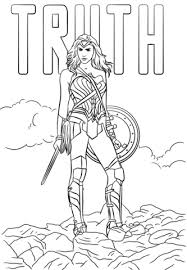 woman truth coloring free printable coloring pages