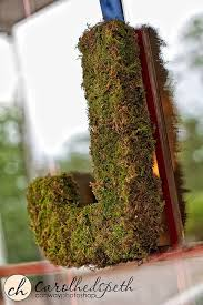 moss covered letters dwelling telling bev diy moss covered letters