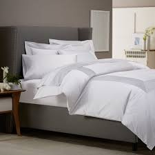 White Bedding Get Alluring Visage By Displaying A White Comforter Sets King
